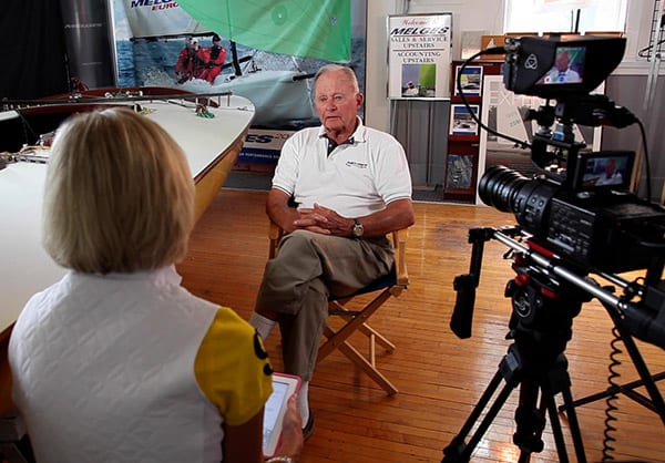 Buddy Melges interviewed by Anne Peterson